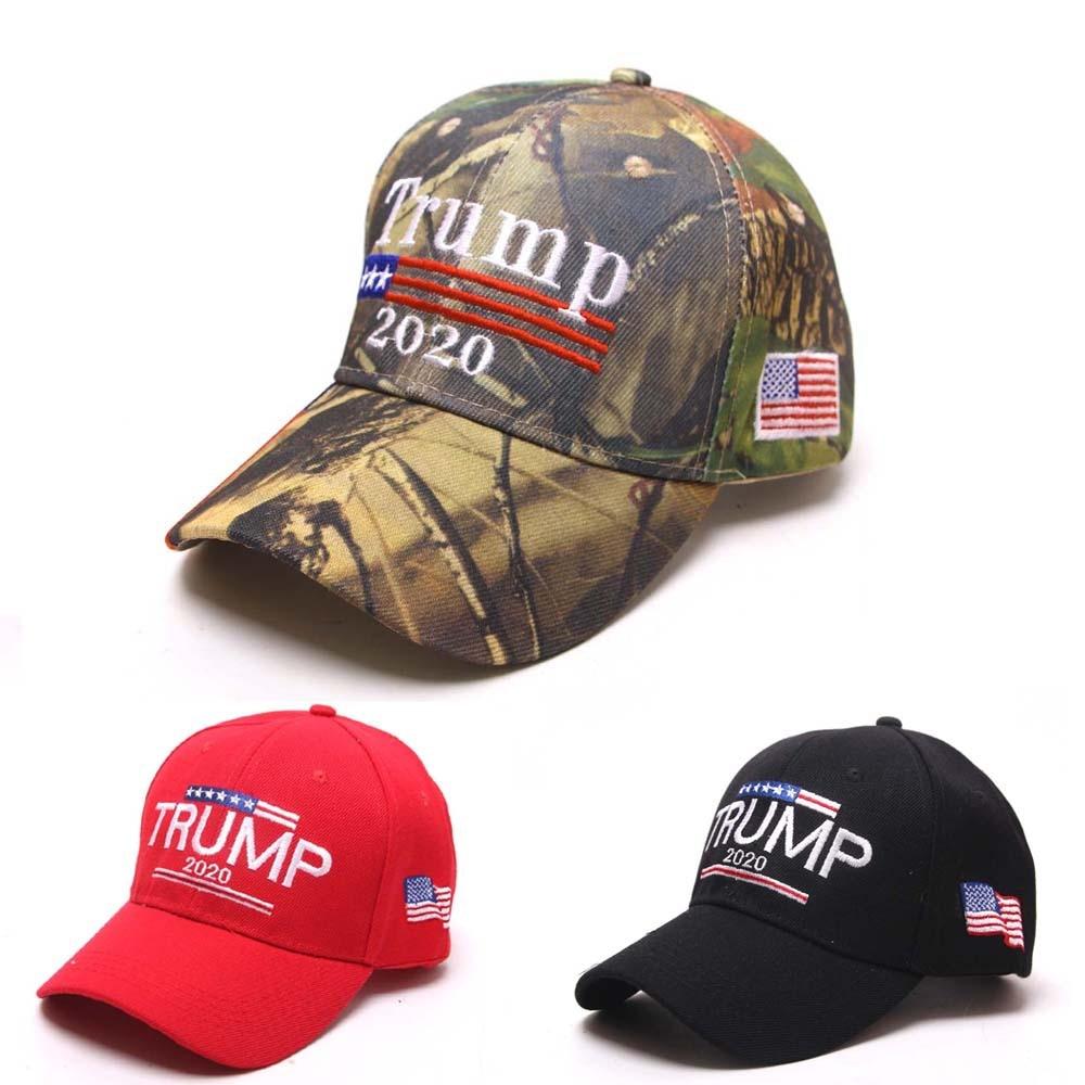 US Womens Mens Red Keep America Great Election 2020 Trump Hats MAGA Bucket Cap