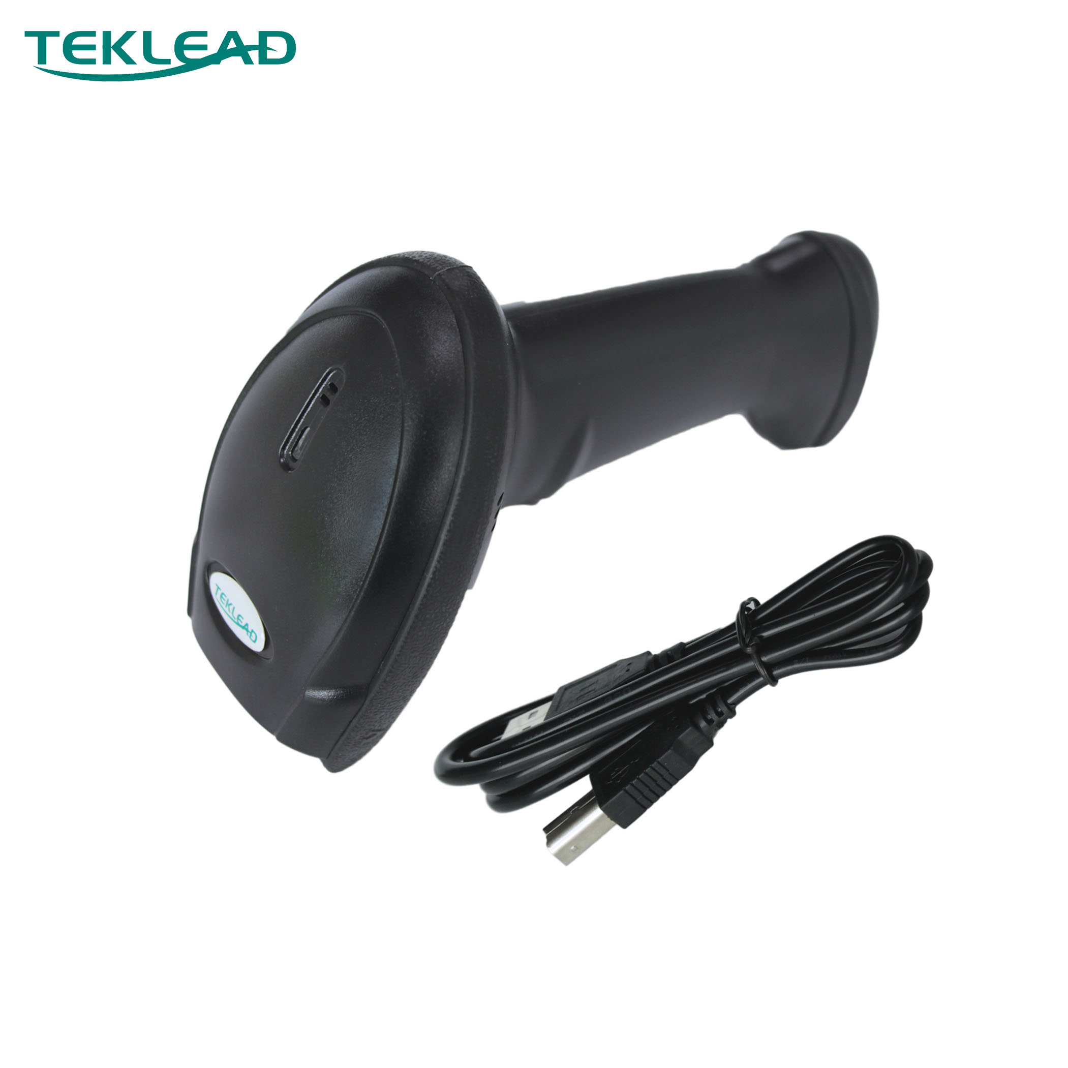 TEKLEAD 2D Barcode Scanner USB Wired QR Code Reader for Android Windows POS for Store, Supermarket, production Line title=