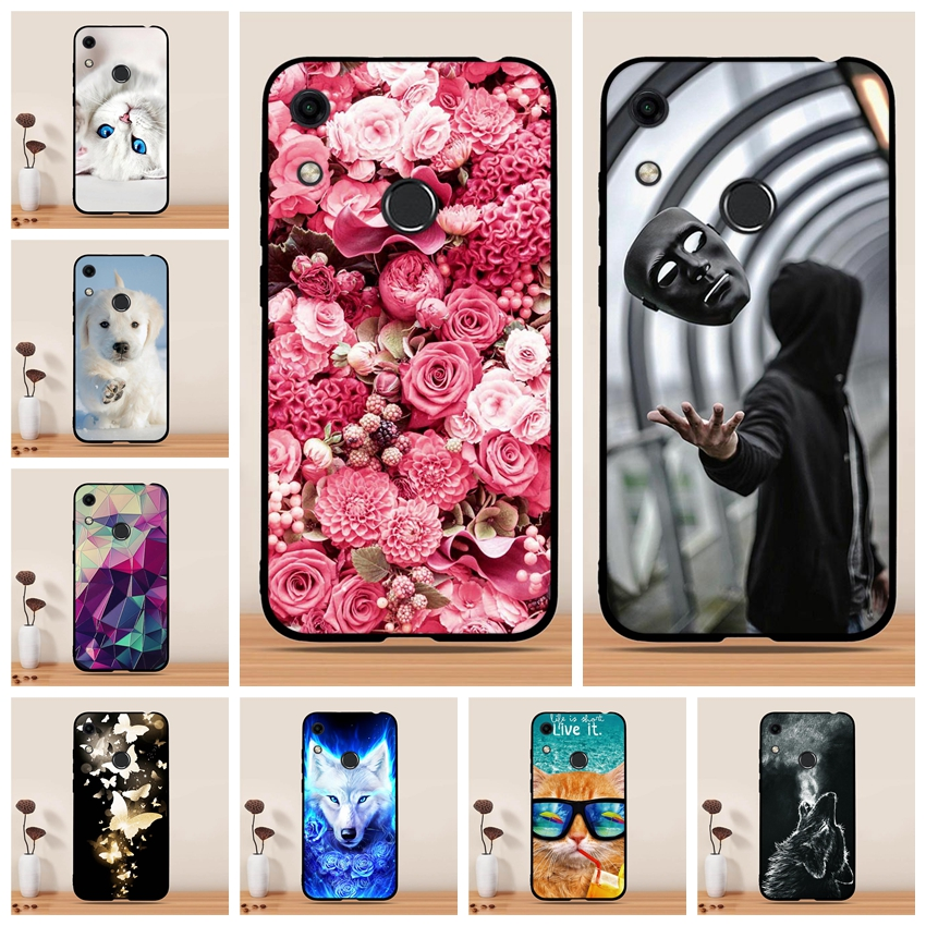 For Huawei Honor 8A Jat-lx1 Case Silicon Cover For Huawei Honor 8A Honor8a Phone Case Coque Capa Funda For Huawei Honor 8A Cover