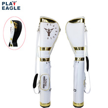 PLAYEAGLE Golf Gun Bag Contain Half Golf Clubs Set Elastic Stretch Golf Stand Bag