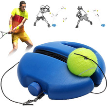 Aids-Tool Rope-Ball Tennis-Trainer Partner with Elastic Practice-Self-Duty Rebound Sparring