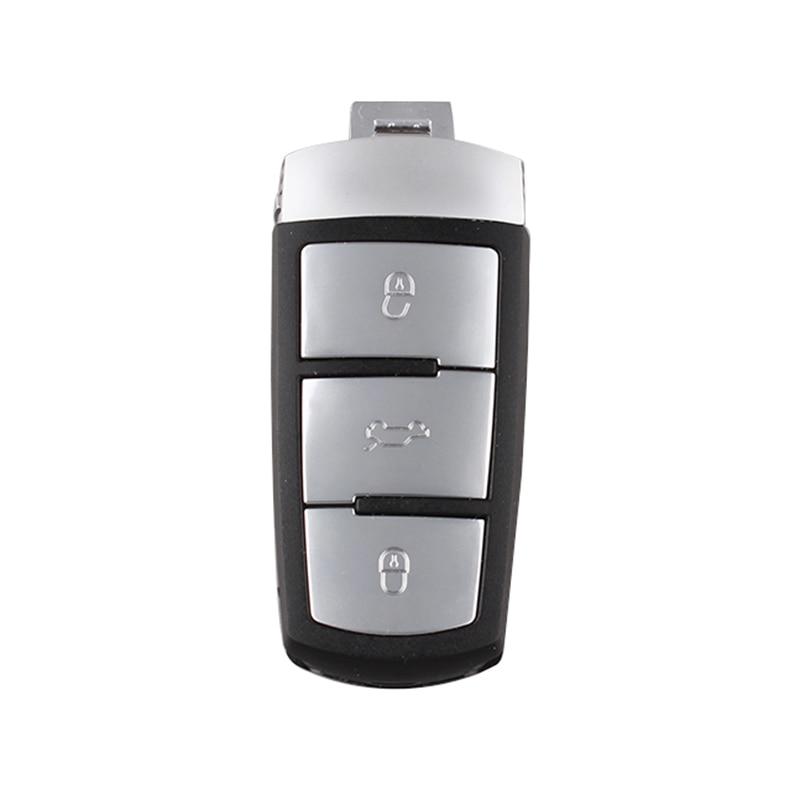 3 Tasten Schlüssel Hülle Ersatz Gehäuse 433Mhz ID48 Fob für VW Magotan Passat CC