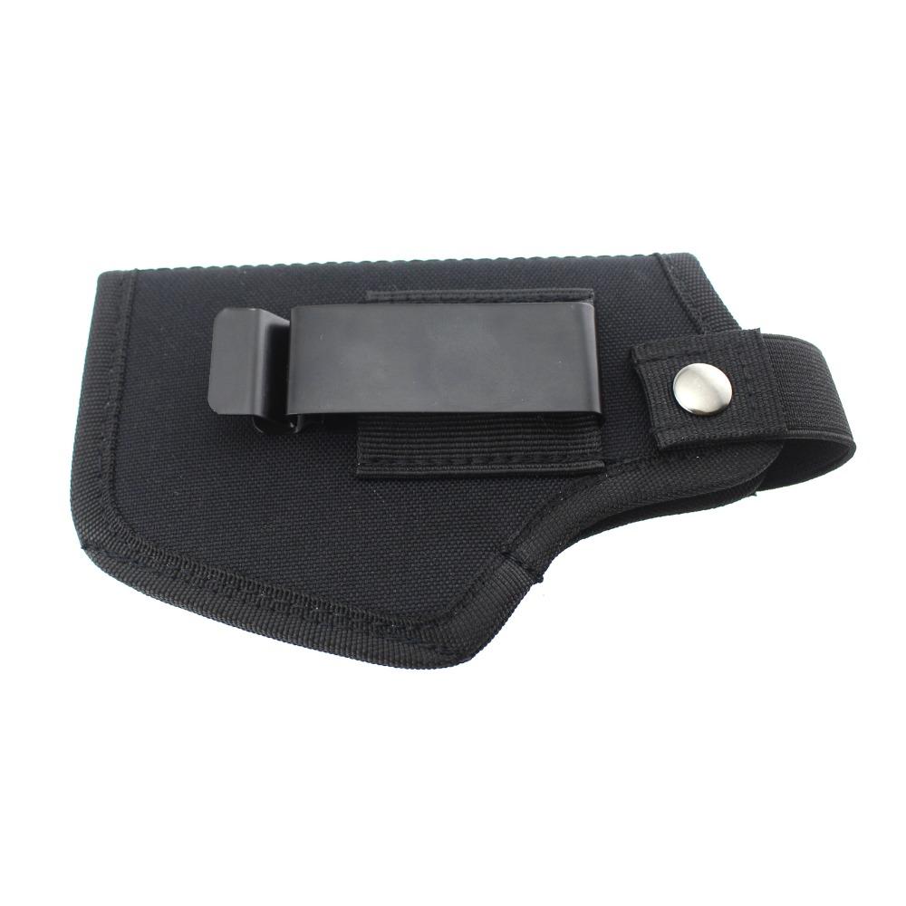 Black Metal Holster Sheath Belt Clip Clasp Hook Buckle Leather Craft