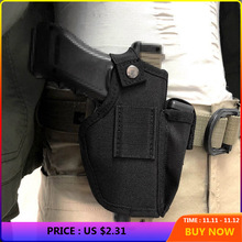 Concealed Holster Hunting-Accessories Tactical-Belt Most-Of-Pistol Universal Nylon