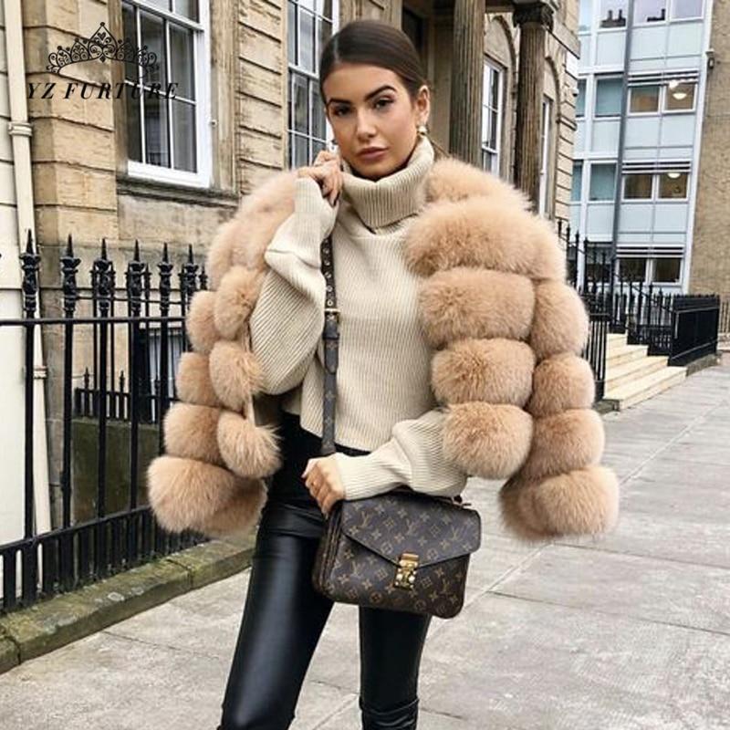 Luxury Womens Mink Furry Short Coat Slim Fit Jacket Outwear Stand Collar