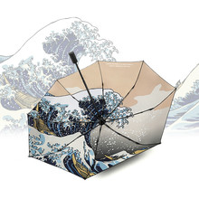 Parasol Umbrella Rain-Gear Sombrilla Foldable Japanese Automatic Home DB60YS Uv-Protection
