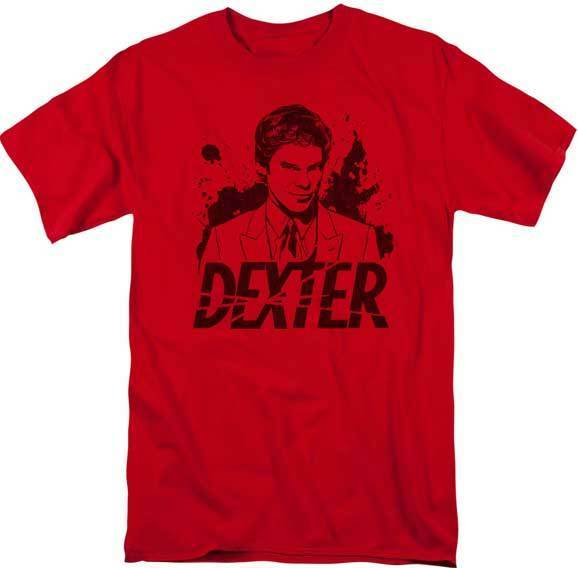 Dexter TV Show Bay Harbor MOONLIGHT FISHING Licensed Women/'s T-Shirt All Sizes