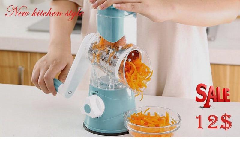 Hot-New-Multifunction-Chopper-Manual-Rotating-Grater-Vegetable-Fruit-Cutter-Kitchen-Gadgets-Tools-Hogard-ST27 (2)