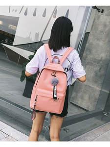 Backpack Travel-Bag Canvas Shoulder Teenager Large-Capacity Girls Students Women New