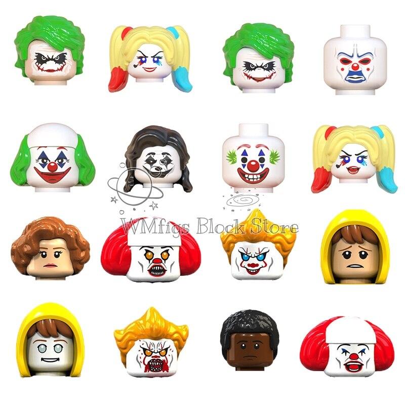 DC Film series The Joker  Kuiying Demonize George Figures Head Fittings Building Block Toy Children Dream Ghost Baby Gift