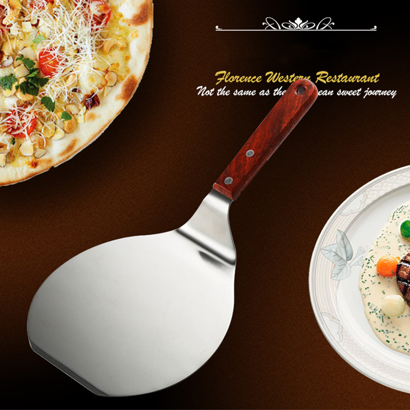 Chic Pizza Peel Practical Shovel Cake Tray Plate Shifter Kitchen Baking Tool