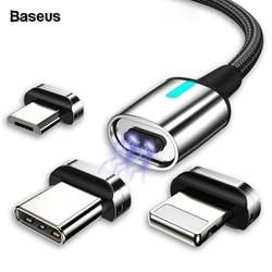 Магнитный кабель микро-USB Baseus для iPhone и Samsung