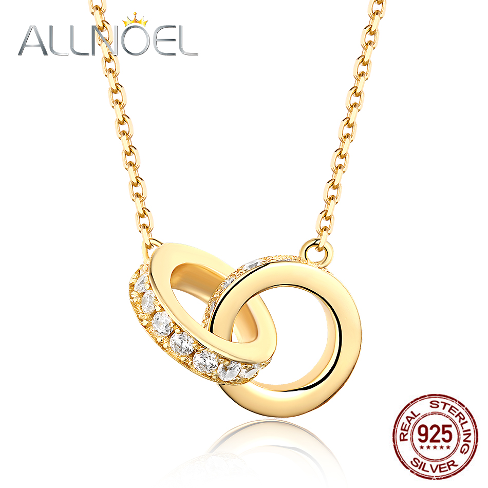 925 Sterling Silver Plating Women Fashion Jewelry Pendant Necklace x3