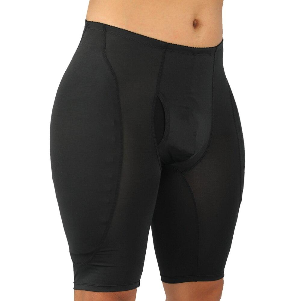 S-6XL Plus Size Men Pad Butt Lifter Tummy Waist Trainer Control Panties Steampunk Men Pad Enhancement Underwear Mens Bodysuit