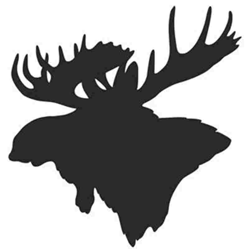 Pegatina Hunt Buck Decal Hunting Club Sticker Hollow Sticker Hunter Car Window Vinyl Decal Funny Poster Motorcycle