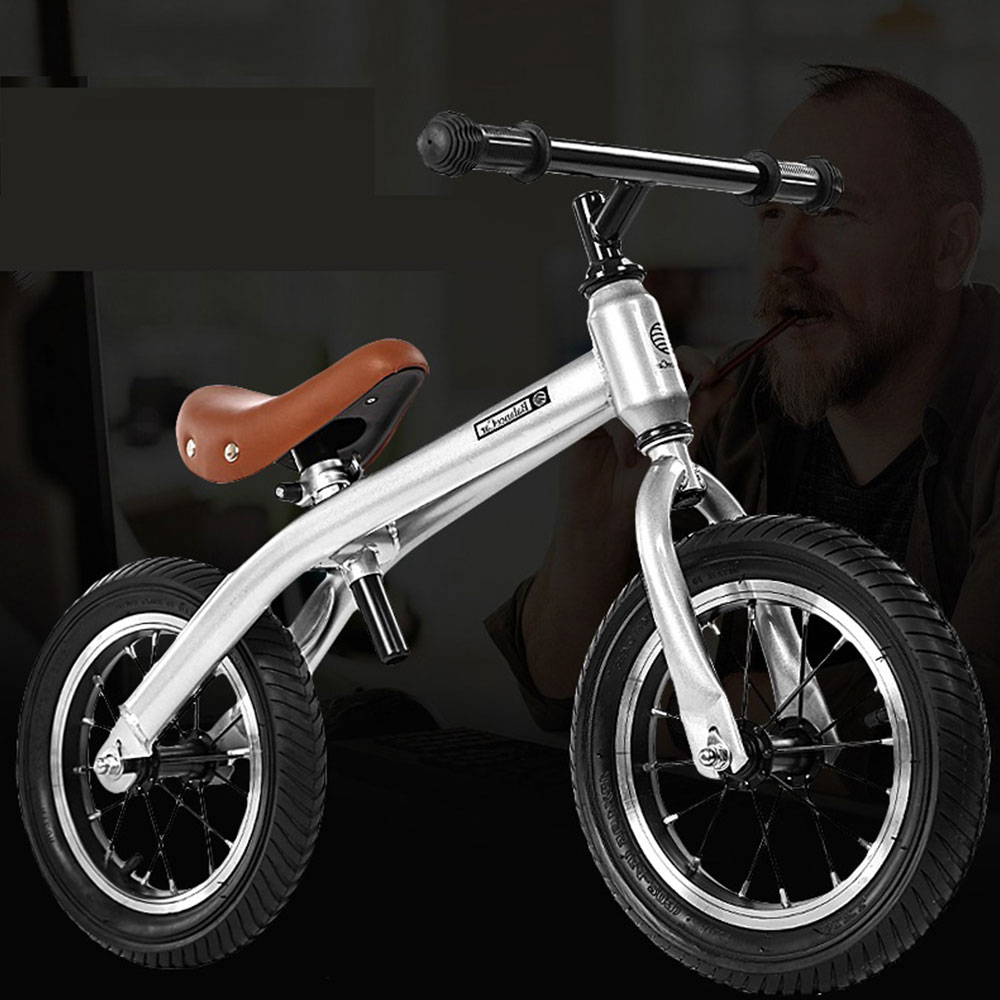 Ultralight Balance Bike 12 Inch Kids Balance Bicycle for 2~7 Years Old Children Complete Bike title=