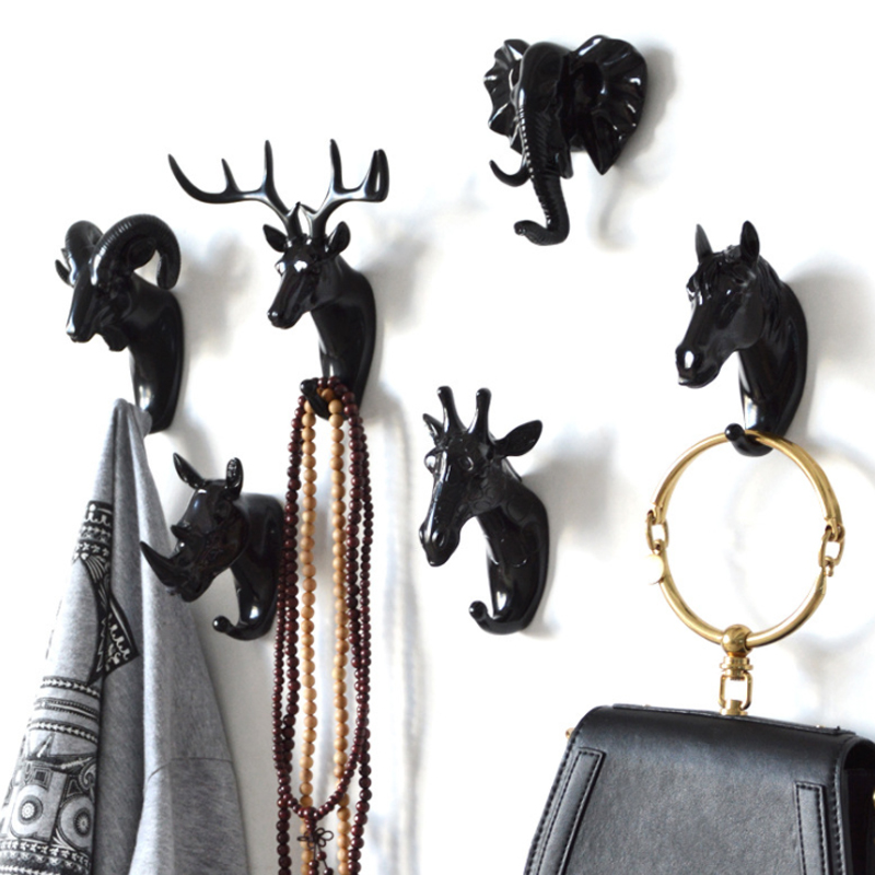 Wall Coat Rack Home Wall Decoration Animal Head Rack