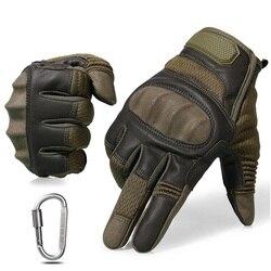 Тактические сенсорные перчатки вождение варежки Военные перчатки полный палец с сенсорным экраном страйкбол Combat paintball стрельба с твердыми ...