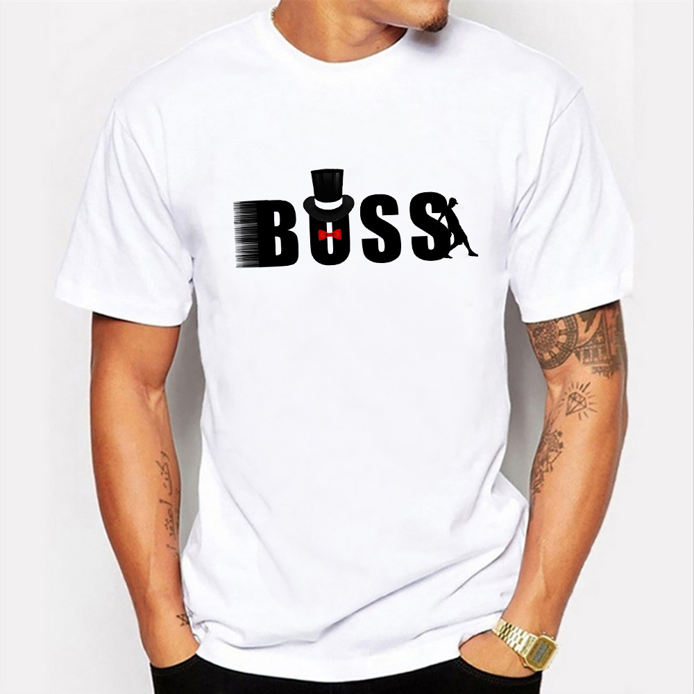 Summer New Arrival Men T-shirt Natural Boss Tshirt Man Print Clothes 2019 Short Sleeve Summer Fashion New Casual Top tees