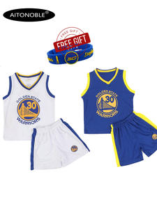 T-Shirts Shorts-Set Basketball-Jersey No Comfortable Aitonoble And Outdoor Quick-Dry