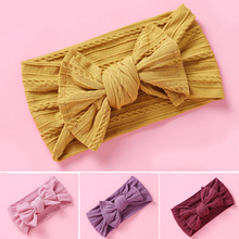 Newborn Infant Bow Knot Baby Headband Elastic Turban Hairbands Bows Kids Baby Girl Headbands For Toddler Girls Hair Accessories