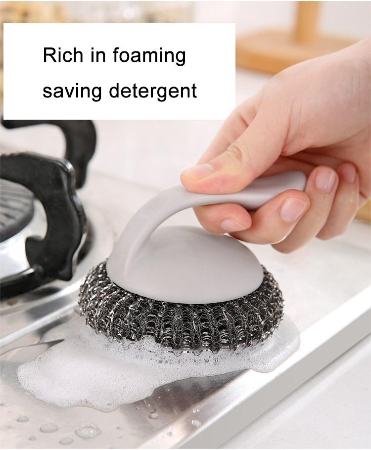 1 Set//6pcs Nano Cleaning Balls Dishwashing Brush BBQ Cleaning Brush Scouring Pad