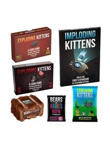 Card-Game Bundle Expansion Streaking Imploding Kittens Explosing for Fun