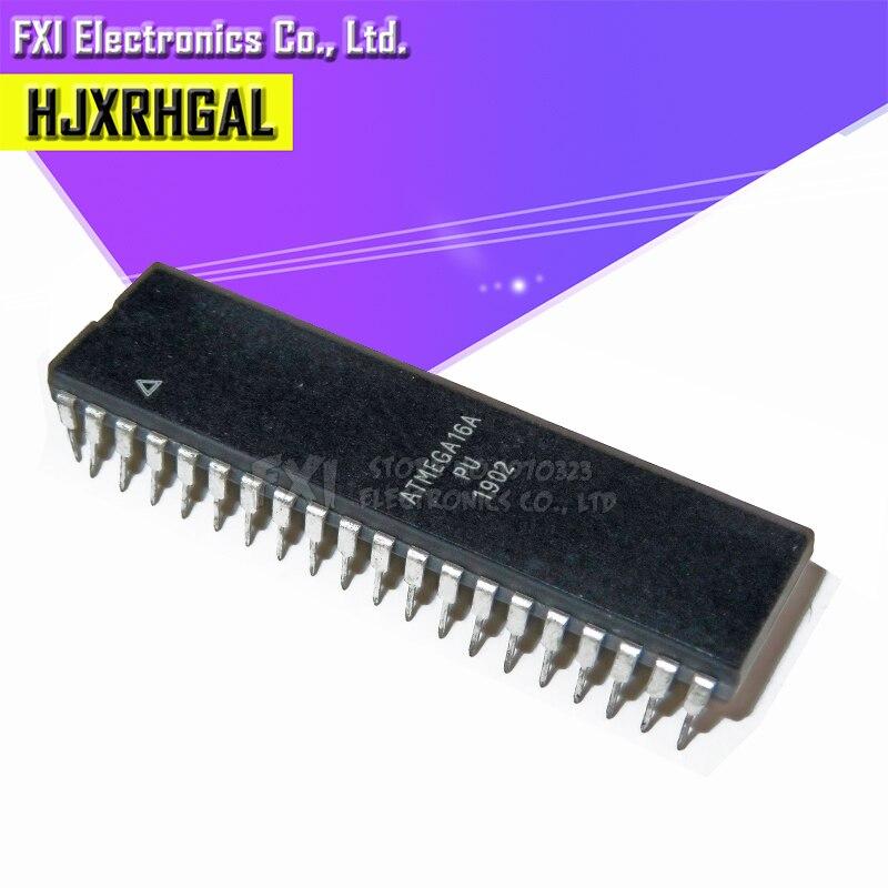 2PCS ATMEGA32A-PU MCU AVR 32K FLASH 16MHZ 40-PDIP NEW
