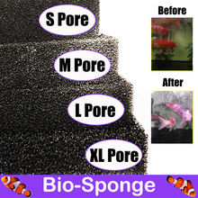 Aquarium-Accessories FOAM-SPONGE-FILTER Fish-Tank Pond Biochemical XL Black Pore Multiple-Size