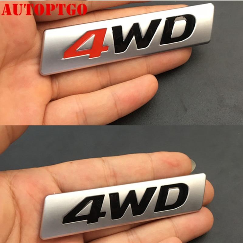 Red WRX Set Emblem Front Badge Side Fender Sticker Rear Trunk Decal