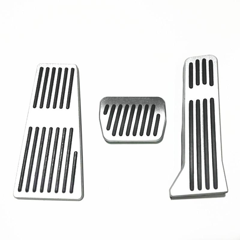 Brake Pedals for Mazda 3 6 CX-5 2013 2014 2015 No dirll Gas Fuel Brake Aluminum 3 Pcs