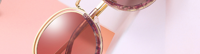 Sunglasses Women Vintage Round Sun Glasses Polarized Lens UV400 Anti Reflective Summer Polarized Women Snnglasses (3)