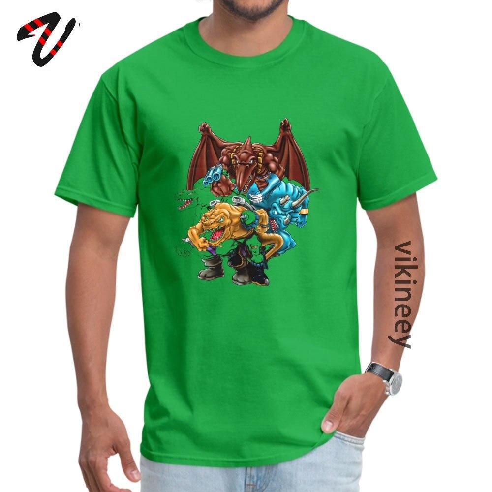 Family Tops T Shirt Latest Short Sleeve Man T Shirt TpicOriginaltitle Custom Lovers Day Sweatshirts Crew Neck Extreme Dinosaurs Group 11067 green