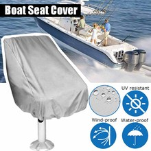 Seat-Cover Boat Chair Pontoon Captain Uv-Resistant Outdoor Waterproof