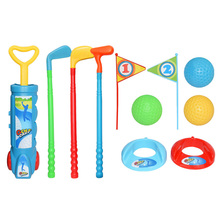Toy Golf-Clubs-Set Sports Kids Mini Child Game-Ball Activities Parent Gift ABS Fitness