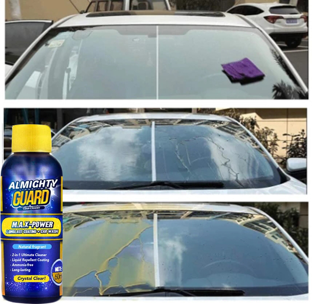 Washer Spray-Cleaner Windshield Glass Car-Scratch-Remover Car-Polish 2-In-1 0  title=