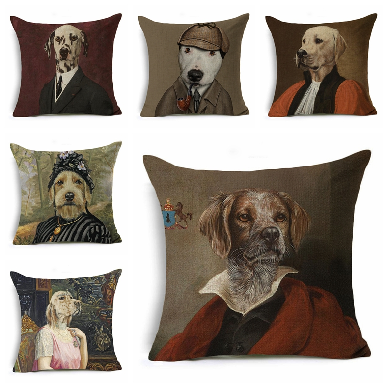 miniature pinscher Dog Breed Printed Animal Print Cushion Pillow Cover 50x50 cm
