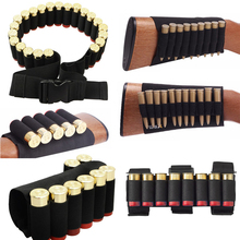 Gun-Accessories Shell-Holder Ammo-Pouch Bullet-Bag Cartridges Buttstock Airsoft Tactical Military