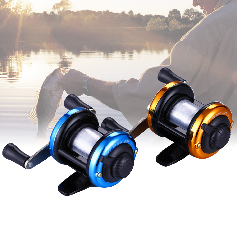 Baitcasting Fishing Magnetic-Brake-Carp Mini Reel-3.0:1-Bait Right Left with Carretilha title=