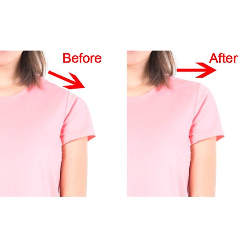 2 Pairs Soft Silicone Shoulder Push-up Pads Anti-Slip Shoulder Enhancer
