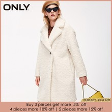 ONLY Autumn winter jacket women Faux Fur Coat Casual Overcoat | 118322512(China)