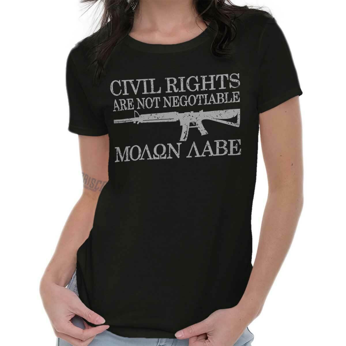 Rifle Gun 2nd Amendment Crewneck Sweatshirt Statue Of Liberty Armed