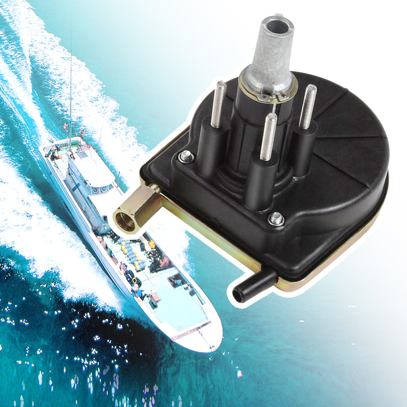 Steering-Helm-System-Kit Boat Marine Pinion 90-Degree-Bezel Assembly Anti-Corrosion-Rack title=