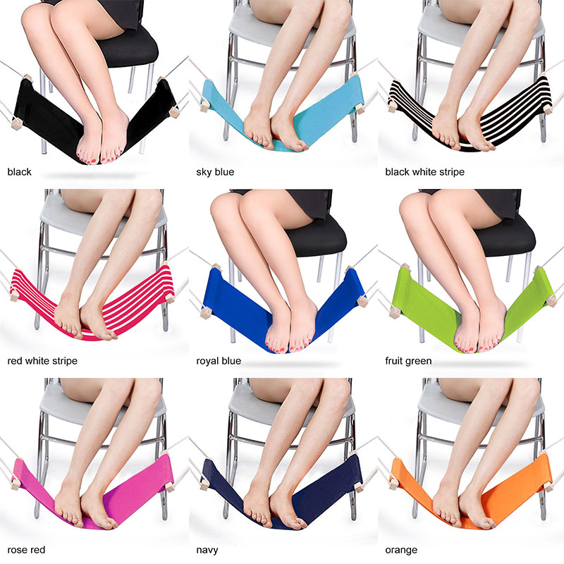Foot <font><b>Hammock</b></font> Comfortable Carry-on Aircra