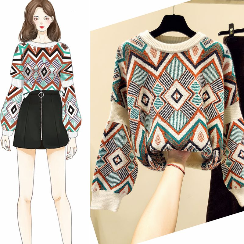 Poncho Promotion Wear Loose-fitting Outerwear Autu...