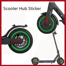 Scooter-Hub-Sticker Wheel-Rims Ninebot Max Tire-Guard-Line Waterproof for G30 Red Green