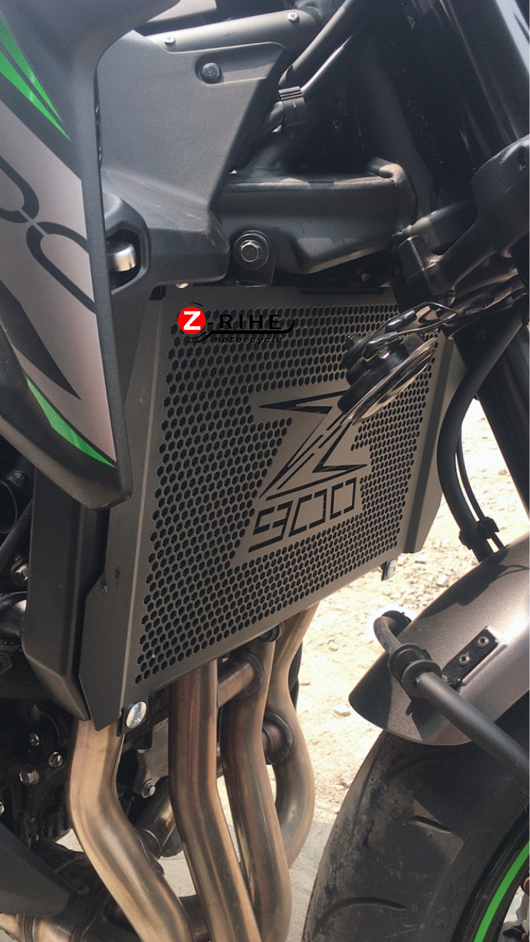 Front Radiator Guard Grille Cover Grill Protector for Kawasaki Z900RS 2017-18 19