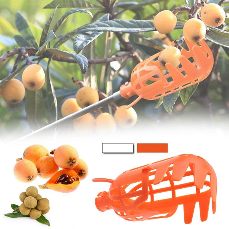 Garden Tools Fruit Picker Gardening Fruits Collection Picking Head Tool Fruit Catcher Device Greenhouse Fruit Hook