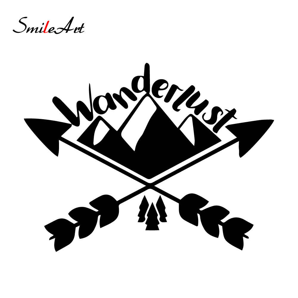 NEW Wanderlust Stickers Ussr Funny Decal Car Window Decoration Vinyl Stickers Motorcycle Accessories