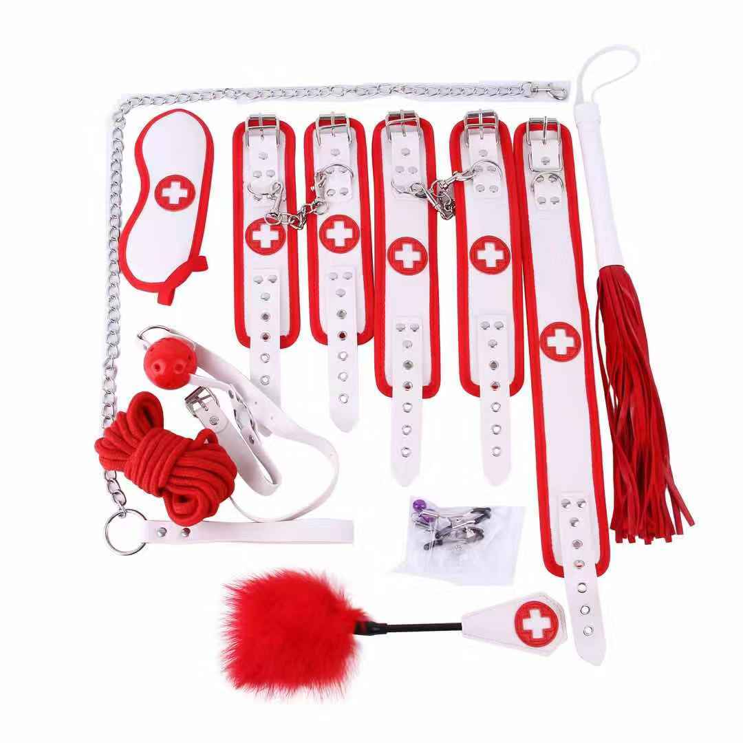 Games-Toys-Kit-for-Couples-bondage-restraint-Set-Hand-Cuffs-woman